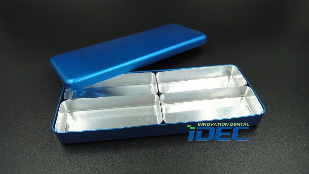 Dental Lab Bur H K File Holder Block Sterilizer Case Disinfection Endo Box Rack 1PC B025A(China (Mainland))