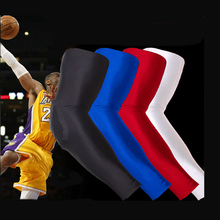 Thickened Elbow Support Pads Basketball Arm Elbow Protector NBA Professional Long Arm Sleeve Support  Prevent Injury Sports Tool