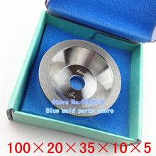Taiwan a diamond grinding wheel bowl shaped diamond wheel sharpener Specifications 100 20 35 10 5