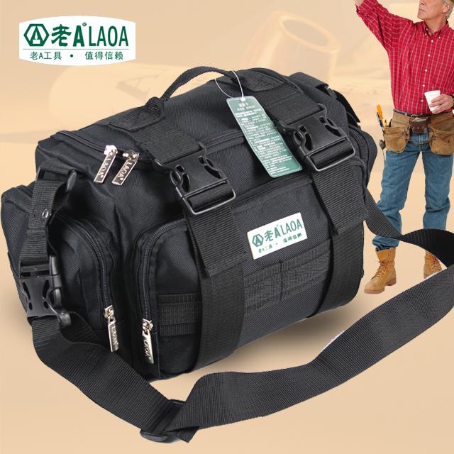 High Quality LAOA Multifunction Tool Bag Large Capacity Professional Repair Tools Bag Messenger Bag(China (Mainland))