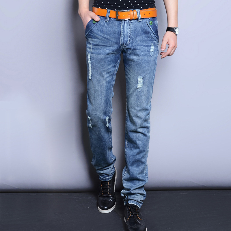 Buy Mens Jeans Blue Straight from the Next UK online shop