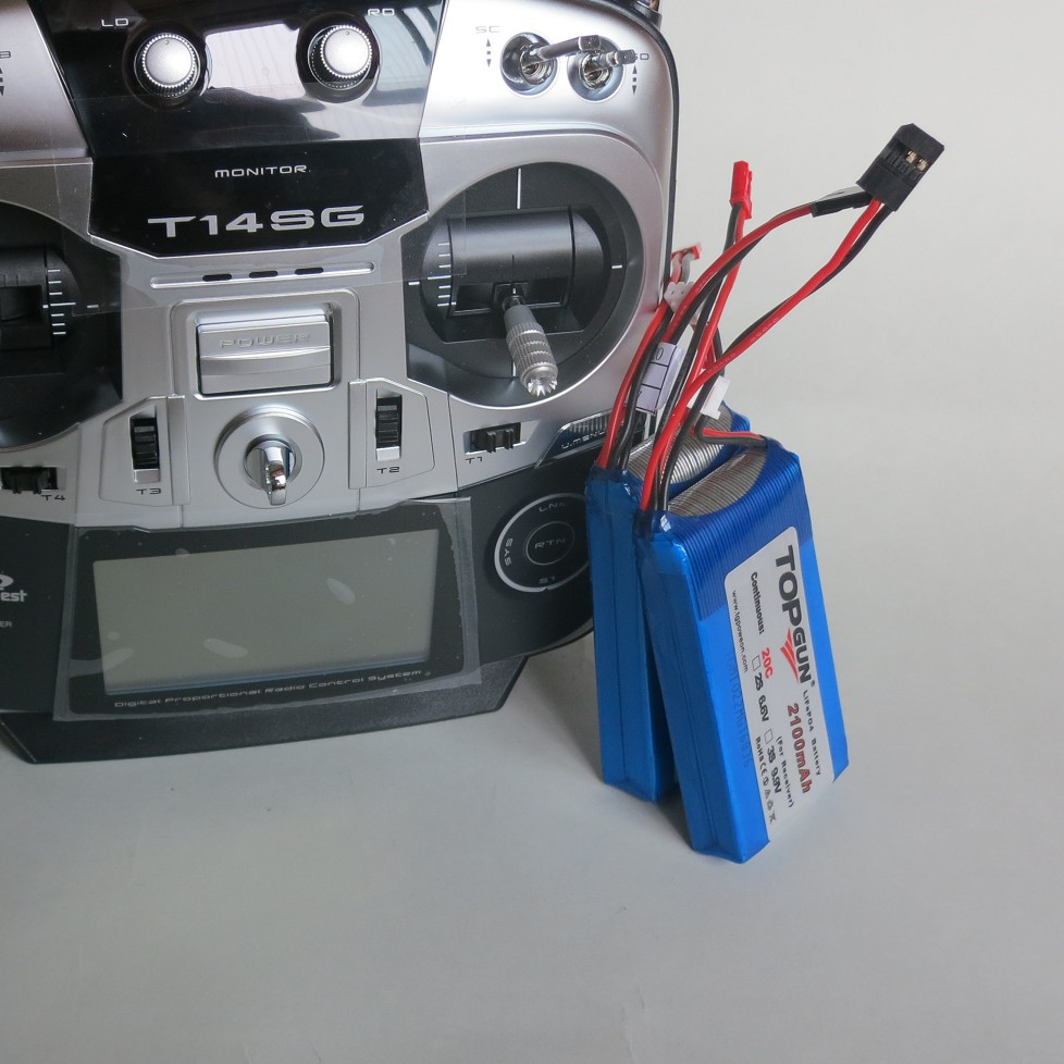 LiFe battery 2100MAH / 20C 6.6V fit for futaba 14sg t10j /receiver power supply(China (Mainland))
