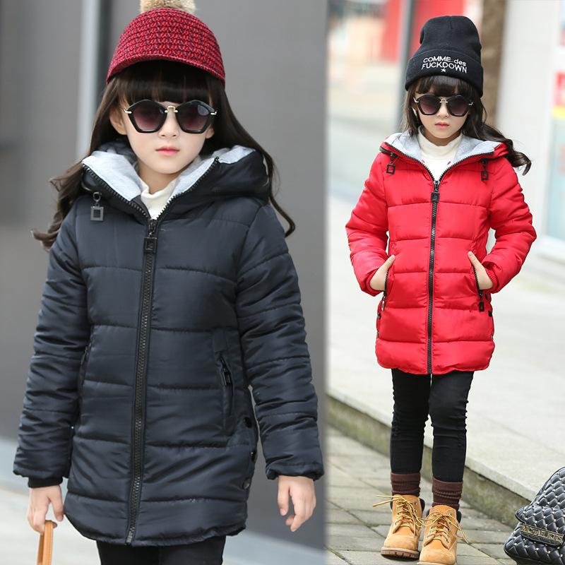 Girls Winter Coat Jacket Kids Coats Jackets For Teenage Girls Parka Doudoune Fille Fashion Manteau Fille Hiver Winterjas Jongens