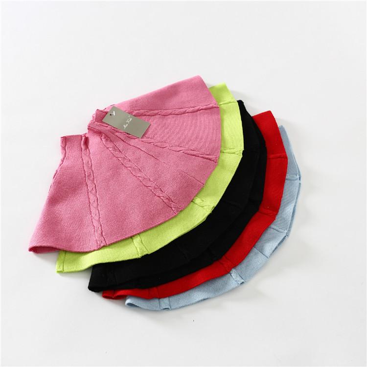 Здесь можно купить  New 2015 spring girls 5 colors skirt baby Kids knit pettiskirt 5pcs/lot   Детские товары