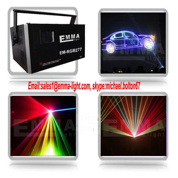 Disco Party Dancing Laser Light DMX LED 5.3w Christmas Pro Laser DJ(China (Mainland))
