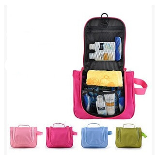 Large Travel  Storage Bag Waterproof  Portable packing Organizer Bags   travel cosmetic bags hook hanging  wash bag<br><br>Aliexpress