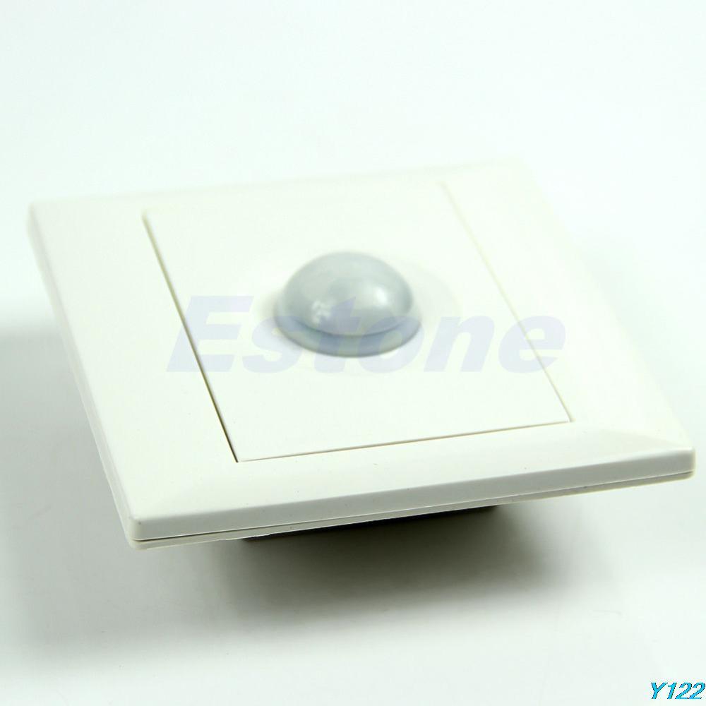 Free shipping IR Infrared Motion Sensor Automatic Light Lamp Energy Saving Control Switch-JZ122(China (Mainland))