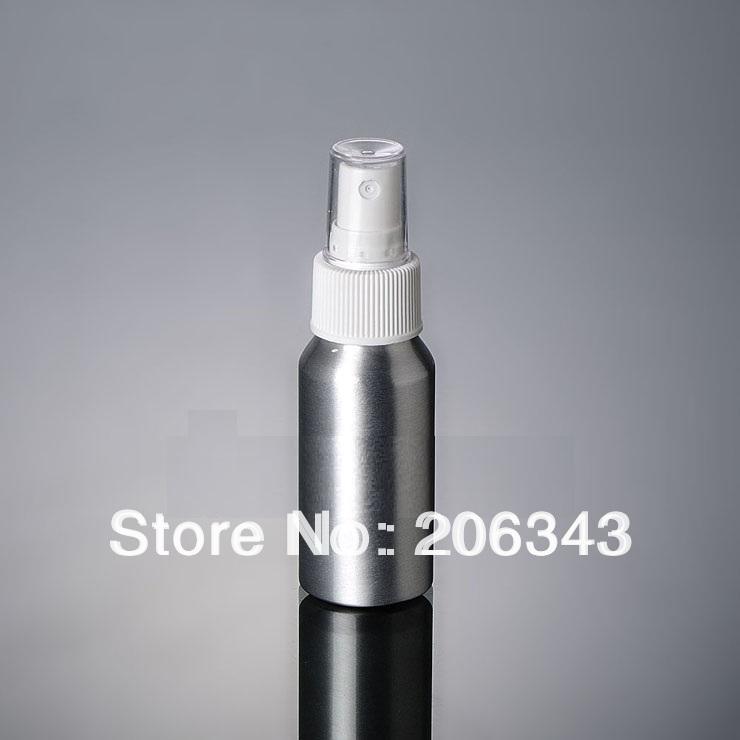 100pcs 100ml Aluminium bottle pump sprayer bottle Aluminum metal bottle spray bottle mist sprayer