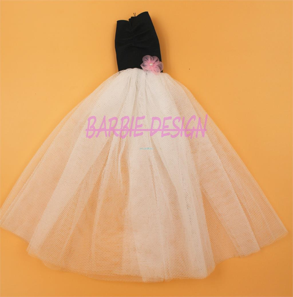 New Arrival Doll Outfit Assortment Luxurious Fashipon Night Gown Garments For Barbie Doll Greatest Present Child Tioys