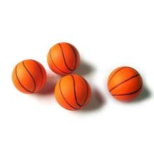 Pu sponge ball basketball advertising gift solid soft ball toy decompression vent ball pet dog cat training ball(China (Mainland))