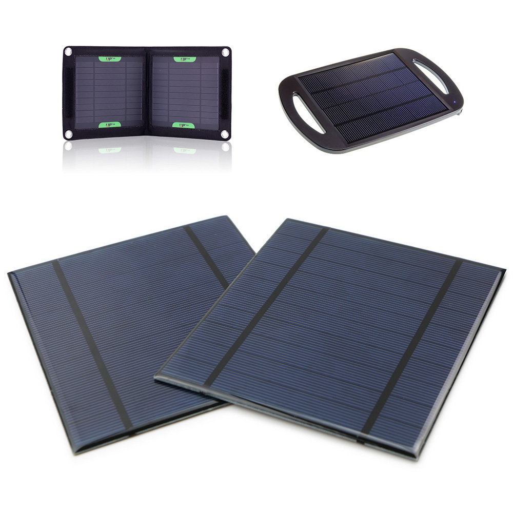 2 PCS 5V 2.5W 5V/500mA mini solar cells epoxy panels for battery power led 130x150mm<br><br>Aliexpress