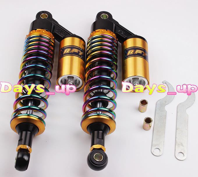 """New Arrival 320mm 12.5"""" One Pair Air Shock Absorbers For Honda For Yamaha Scooter ATV Quad New Motorcycle Parts!(China (Mainland))"""