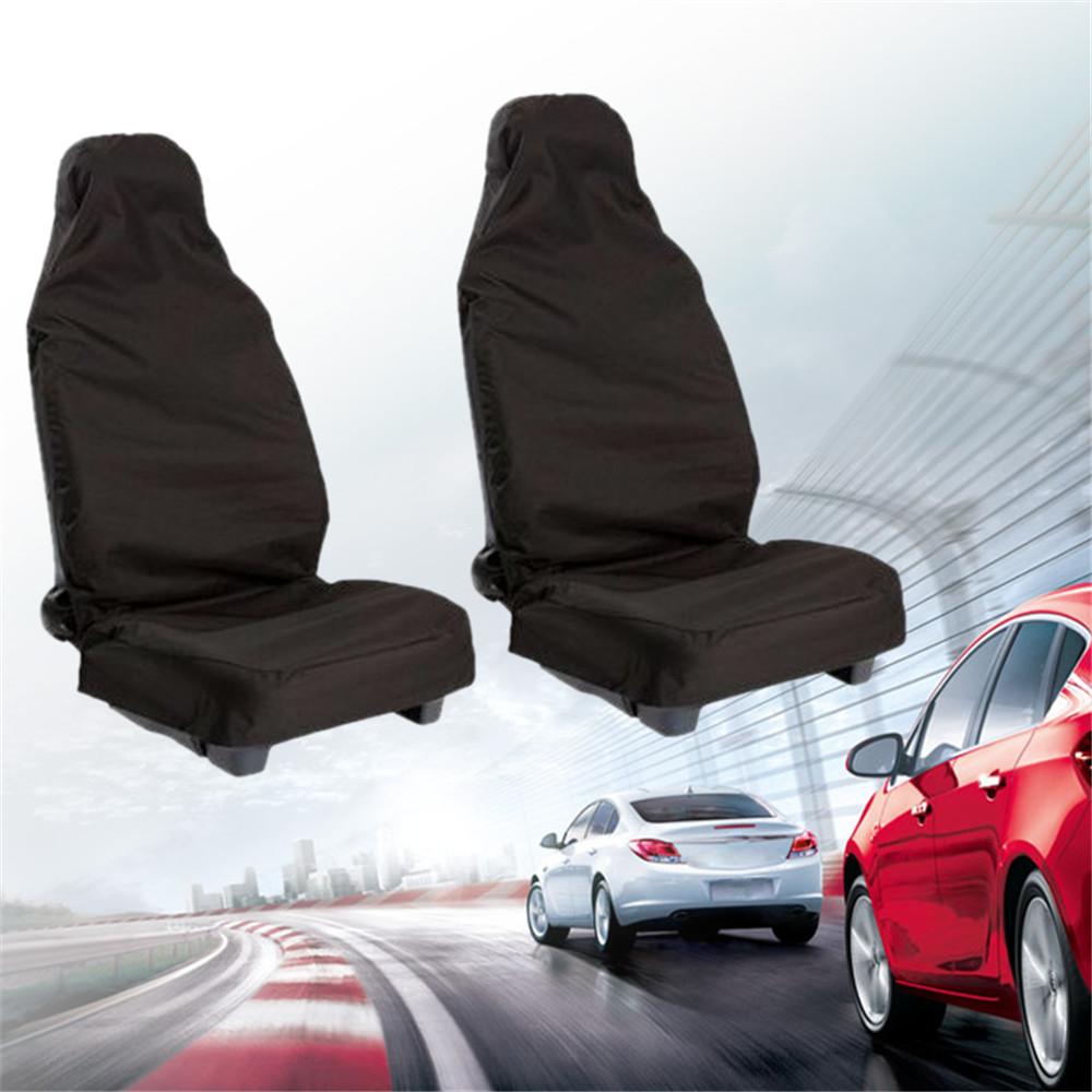 Front Universal Waterproof Nylon Car Van Auto Vehicle Seat