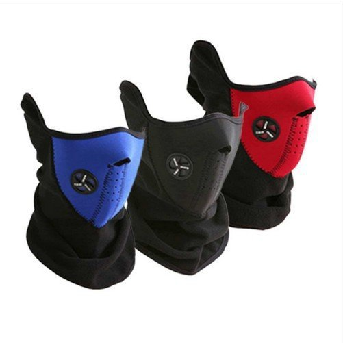 Ski Snowboard Bike Motorcycle Face Mask Neck Warm black,blue,red as photo can choose