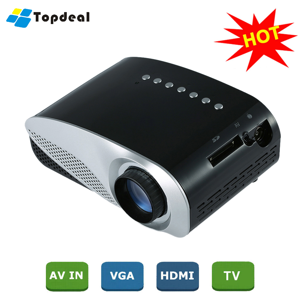 HD LED Projector Home Cinema Theater Mini Projector 800 * 480 Pixels HDMI 1080P Decoding Video Game Proyector Multimedia Player(China (Mainland))