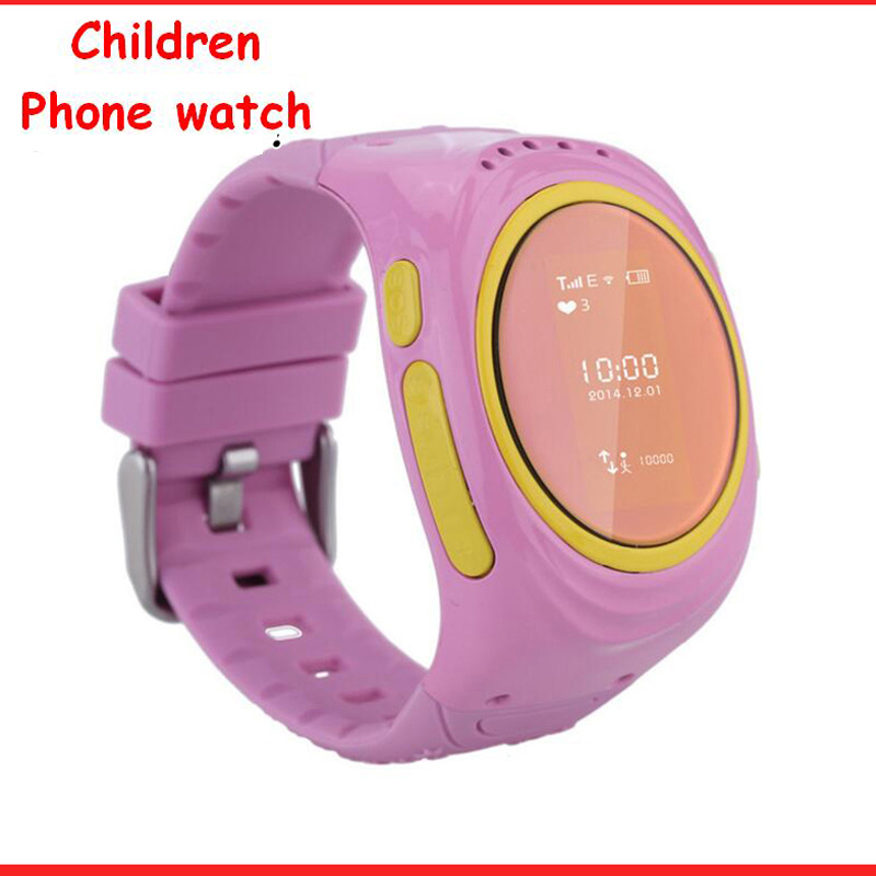 Kids Smart Watches Support SIM card for Children GPS Anti-Lost Child Guard Tracker Wristwatch Health Watch Phone for iOS Android(China (Mainland))