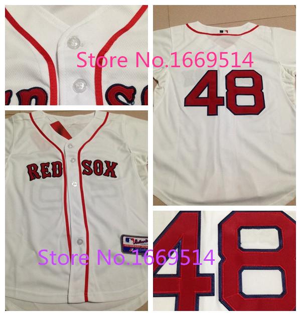 New Baseball Jerseys #48 100% , s/xl Baseball Jerseys youth