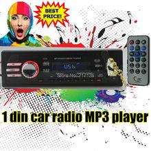 Car Radio Player MP3 FM/USB/1 Din/USB port 12V Car radios Audio Auto Stereo Car MP3 Free shipping 2*20W Hot sale EQ Effect NEW(China (Mainland))