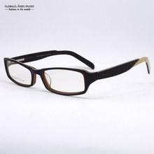 New Fashion Design Flexible Women Dark Brown With The letter printing clean lens Glasses Frame/Eyeglasses/Eyewear TMA-44029