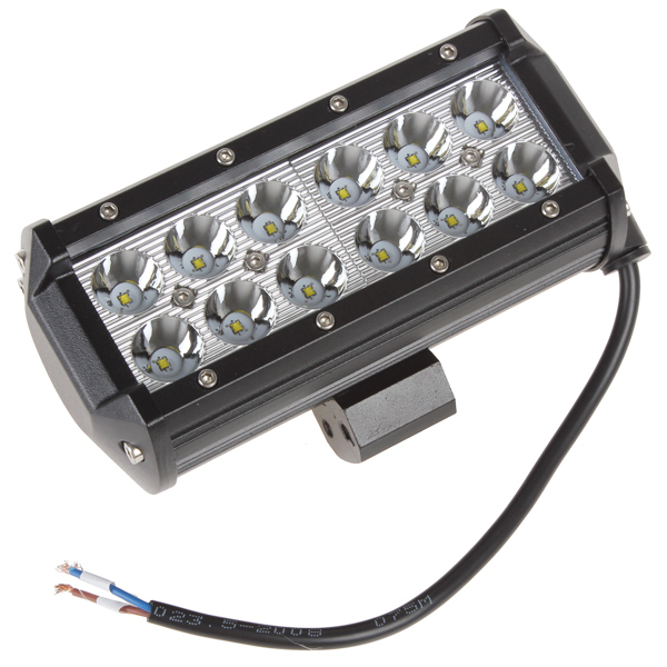 2520Lm 36W High Power Waterproof CREE LED Offroad Work Light Off Road Driving Light with 12pcs 3W LED for Car Truck Jeep Boat(China (Mainland))