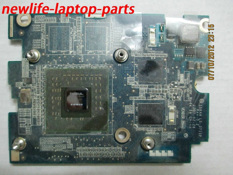 P200 P205 vedio card VGA CARD ISRAA LS-3711P 128M GF-GO7600-N-B1 100% work  promise quality fast ship<br><br>Aliexpress
