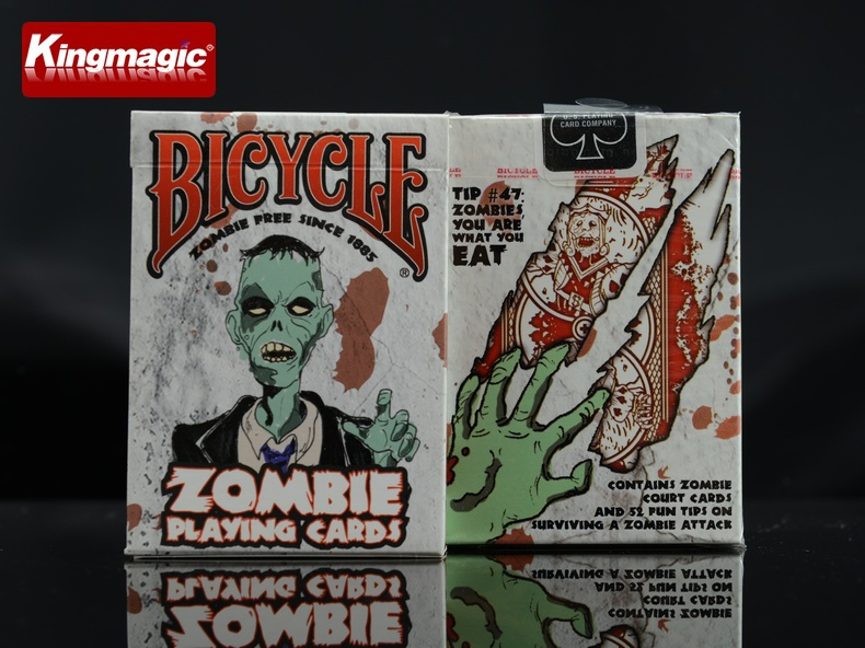 100% ORIGINAL Bicycle zombie Deck Playing Cards Best Poker New Bicycle Playing Card Magic Card Ellusionist(China (Mainland))
