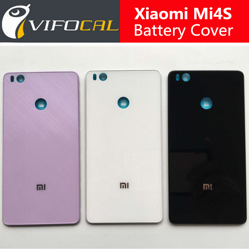 For Xiaomi Mi4S Battery Cover 100% Original New Durable Back Case Mobile Phone Accessory For Xiaomi Mi4S Mi 4S Phone(China (Mainland))