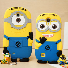 3D cute funny cartoon Despicable case coque Samsung Galaxy E5 E7 J5 J7 small yellow people silicon phone cover fundas - There is an Online shop store