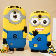 3D cute funny cartoon Despicable case coque Samsung Galaxy E5 E7 J5 J7 small yellow people silicon phone cover fundas - ePeNa Store store