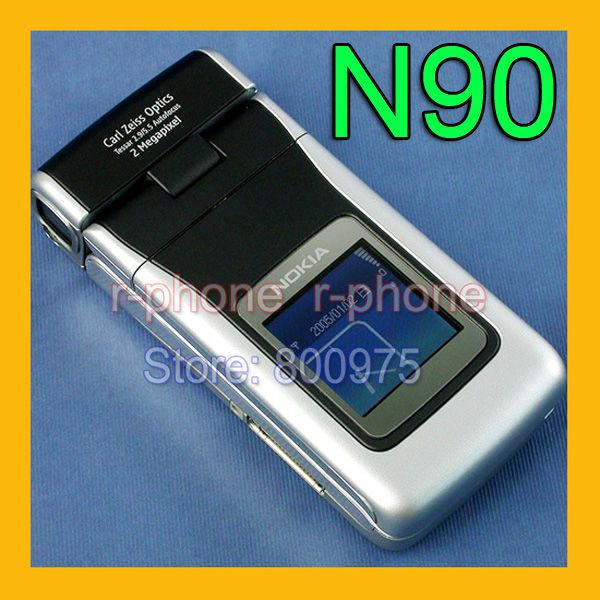 100% Original NOKIA N90 Mobile Cell Phone GSM Unlocked Refurbished(China (Mainland))