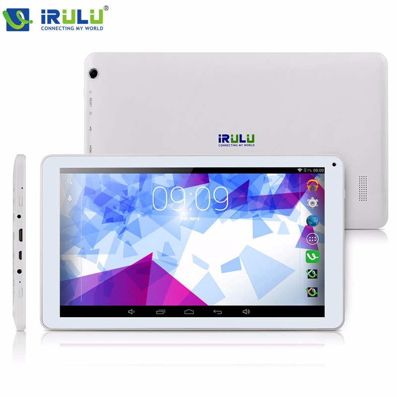 Irulu X1 Pro планшет PC компьютер 10.1 дюймов 1024 * 600 экран Google Android 4.4 KitKat AllWinner Octa ядро 16 ГБ ROM 1 ГБ оперативной памяти wi-fi
