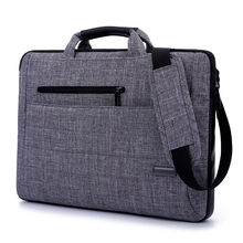 Hot 14 15.6 inch laptop bag handbag shoulder bag protective case pouch cover for macbook pro air reina hp  free EMS to hongkong(China (Mainland))