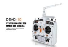 2015 hot saless Walkera DEVO 10ch Transmitter 2.4Ghz Radio System RX1002 Receiver for WALKERA Dron