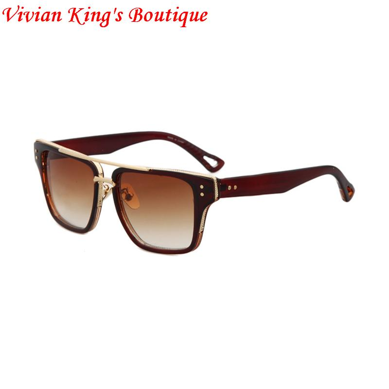 Vintage Style Sunglasses Men Lunette De Soleil Square Luxury Women Designer Sun Glasses Oculo Sol JWW128 - Vivian King's Boutique store