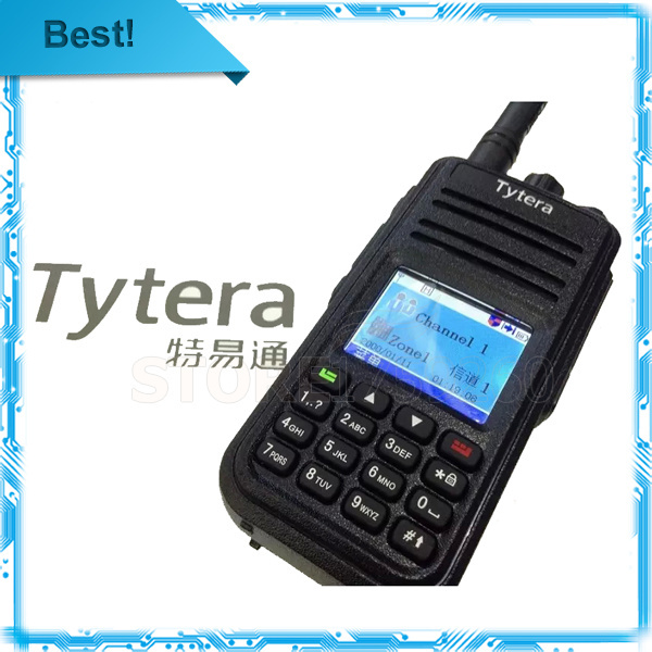 Original DMR Digital Yytera(TYT) MD-380 Walkie Talkie 1000 Channels 400-480MHZ MD380 best two way radio TYT Factory Wholesaler(China (Mainland))