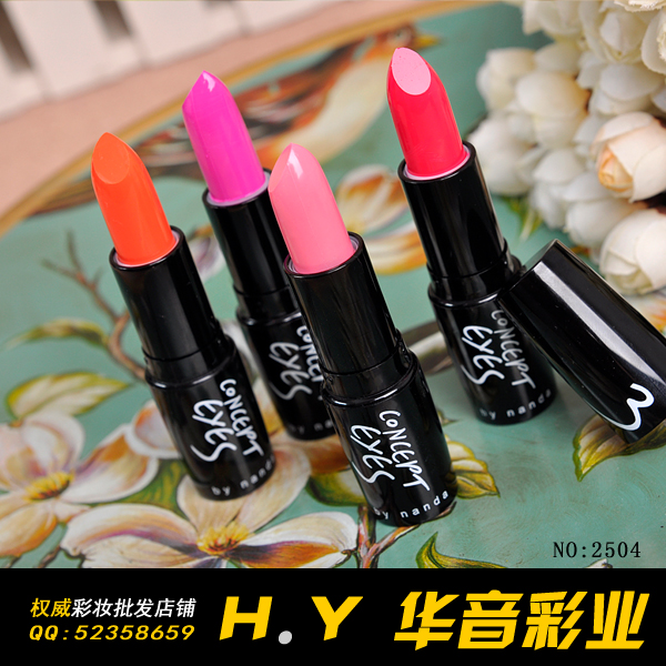 free shippping 10pcs Make-up 3concept eyes lip balm lip gloss 2504<br><br>Aliexpress