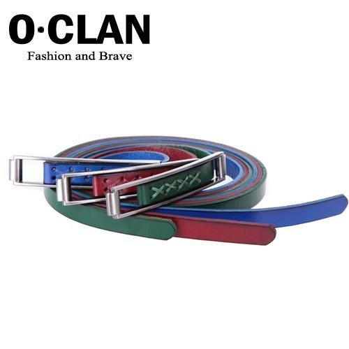 OLDCLAN Free Shipping wholesale + genuine Cow Leather waist Belt for men + Lady Fashion designer Belt hot gift box FGB0118031