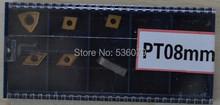 Freies verschiffen 8mm 7 teile/satz tincoated einsätze, Verwenden für wendeschneid drehwerkzeug set, Für drehmaschine schneidwerkzeug set(China (Mainland))