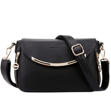 Buy Women's Shoulder Bags Genuine Leather Female Ladies Handbags Women Messenger Bags Crossbody Small Capacity Totes Bolsas Feminina for $26.65 in AliExpress store