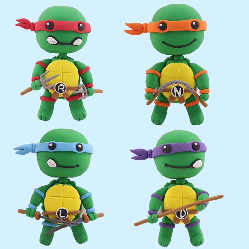 Teenage Mutant Ninja Turtles Action Figures Education Classic Toys
