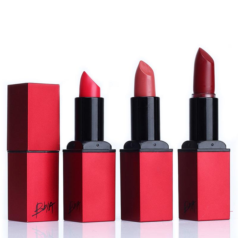 2016 New Arrival BBIA Lipstick Velvet Matte Lip Stick Brand Batom Rouge Waterproof Long-lasting Korean Lip Makeup Cosmetics Set(China (Mainland))