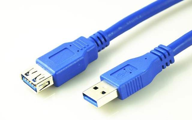 5pcs/lot Super Speed USB 3.0 A type Male to Female USB Extension Cable AM TO AF 3m 10ft 4.8Gbps Support USB2.0