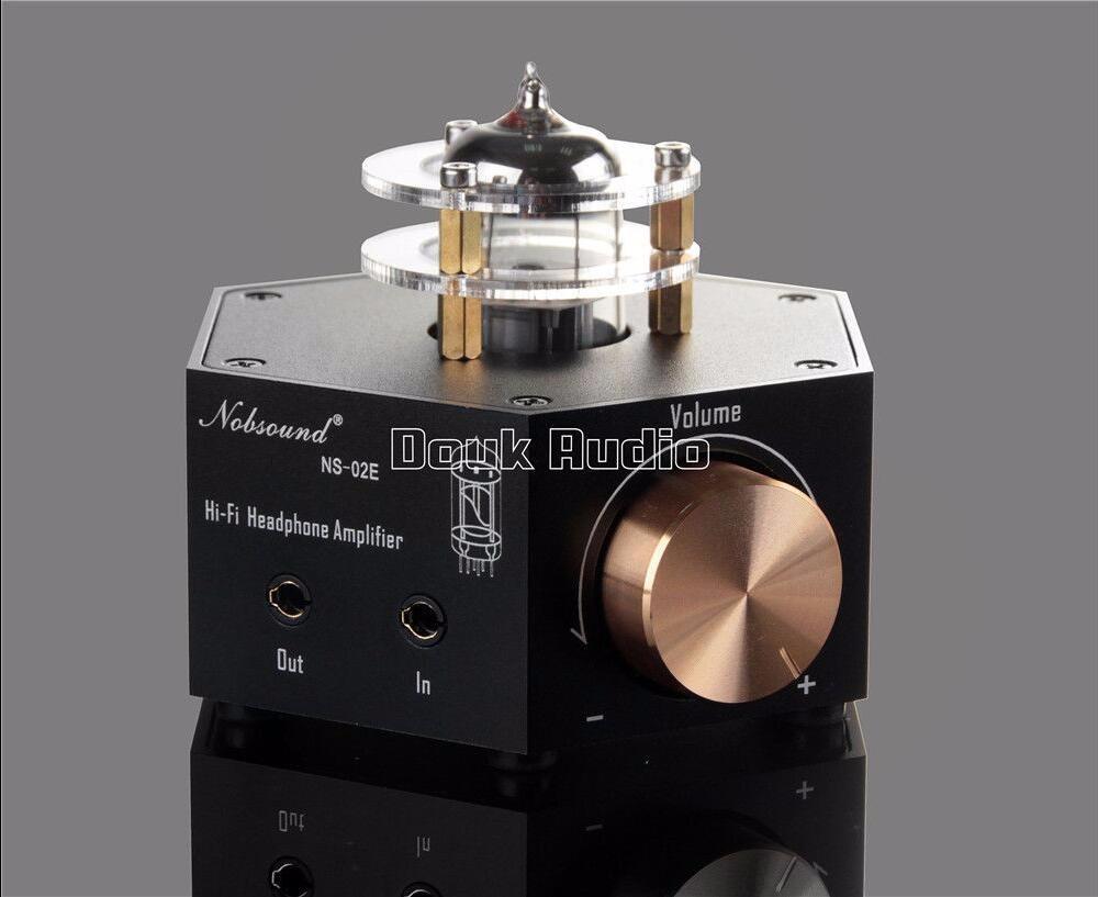 2017 Lastest Douk Audio Nobsound NS-02E Class A 6N3 Vacuum Tube Amplifier Stereo HiFi Earphone Pre-Amp Free Shipping