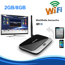 Hot sales 2GB/8GB CS918 Android TV Box Rk3188 Quad Core KODI Fully Loaded Smart Media Player WiFi 1080P Bluetooth Tv Receiver