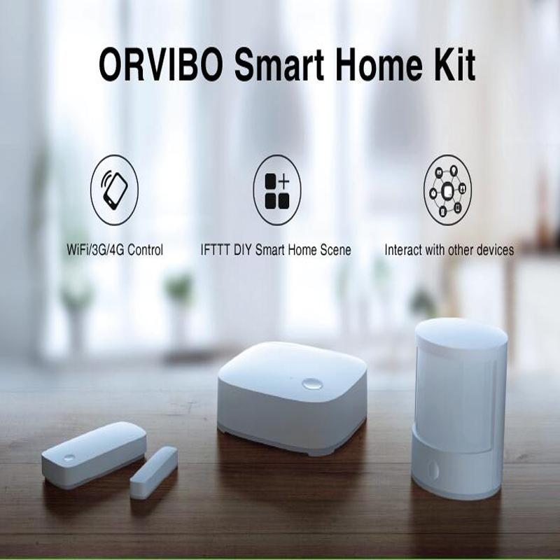 Orvibo, Smart Home Controller, ZigBee Smart Hub,Smart Remote Control,Zigbee Motion Sensor Door &amp; Window Sensor, Smart Home Kit<br><br>Aliexpress
