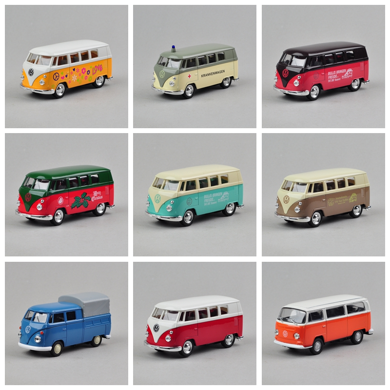Delicate toy car alloy car model vw classic bus(China (Mainland))
