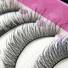 New Arrival 10 Pairs Natural Makeup False Eyelashes Soft Long Eye Lash Extension Tools Brand Makeup Cosmetic Fake Eyelashes(China (Mainland))