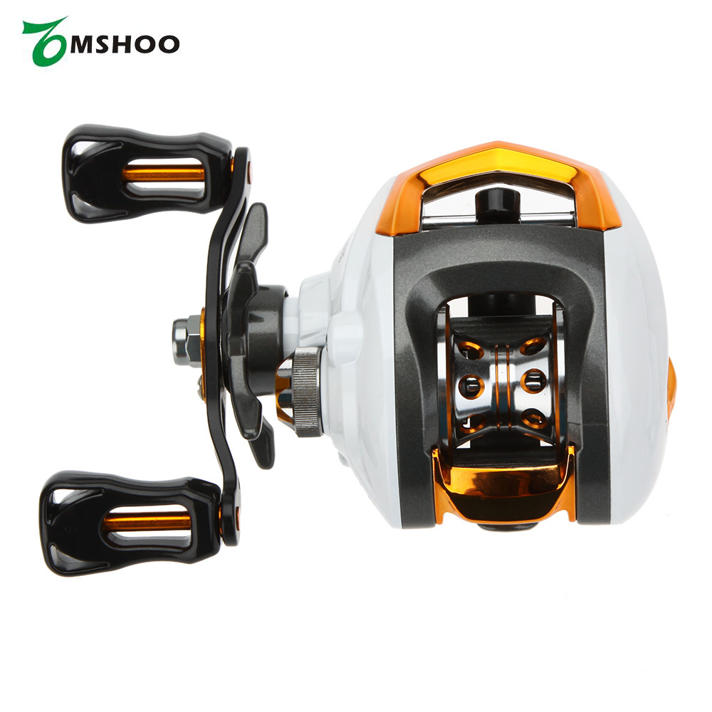 12+1 Ball Bearings Right/Left Hand Baitcasting Reel Fishing Fly High Speed Fishing Reel with Magnetic Brake System Tackle(China (Mainland))