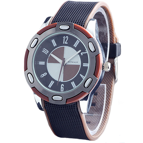2015 New Casual Luxury Rubber Men Women Stylish Wrist Quartz Watch Nice Sports Wristwatch More Colors