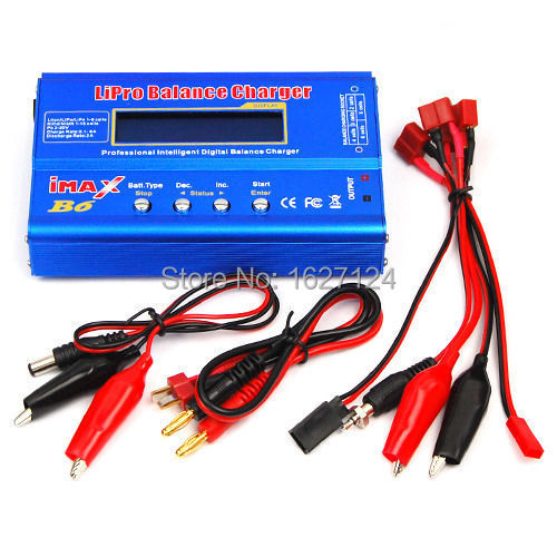 1Set iMax B6 Digital LCD RC Lipo NiMh Battery Balance Charger FOR RC Heli RC Car Battery do not with Power Supply Hot Worldwide(China (Mainland))